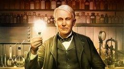 Inventore americano Thomas Edison