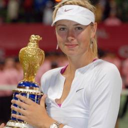Stella del tennis Maria Sharapova immagine