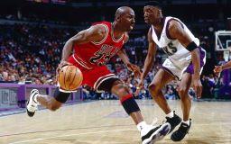 La stella del basket Michael Jordan immagine