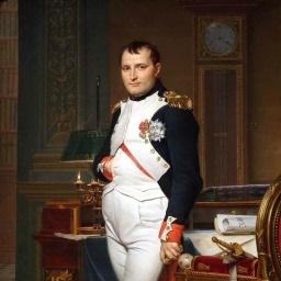Dio francese della guerra Napoleone Bonaparte immagine